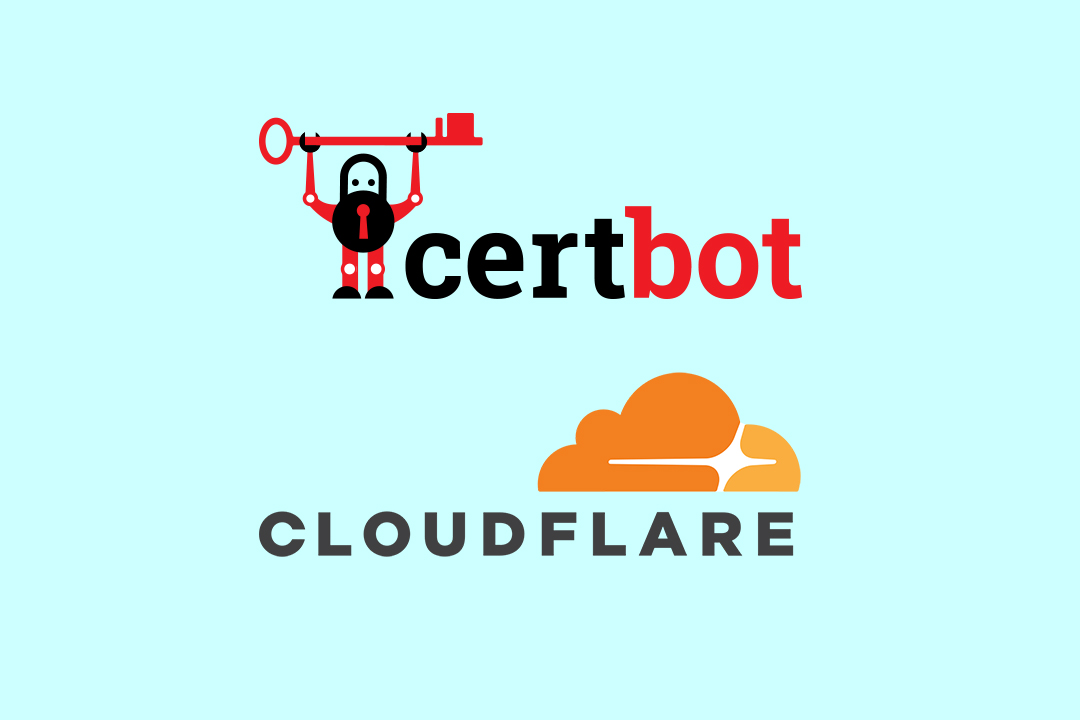 cloudflare+certbot